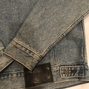 Harley Davidson men's jean jacket.